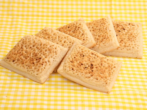 Large Square Crumpets