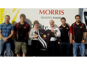 Morris Quality Bakers Sponsors Wigan Under 20's
